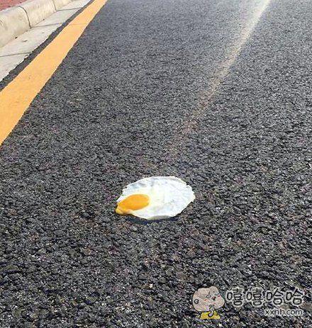 广州的马路上