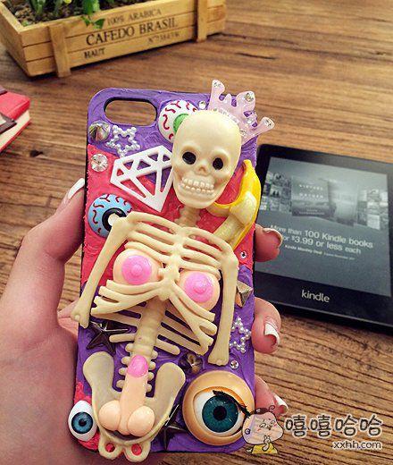 哈哈哈哈这个手机壳我想要!