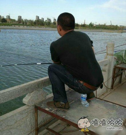 哥,钓鱼是不是挺累的?