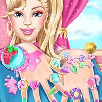芭比公主美甲