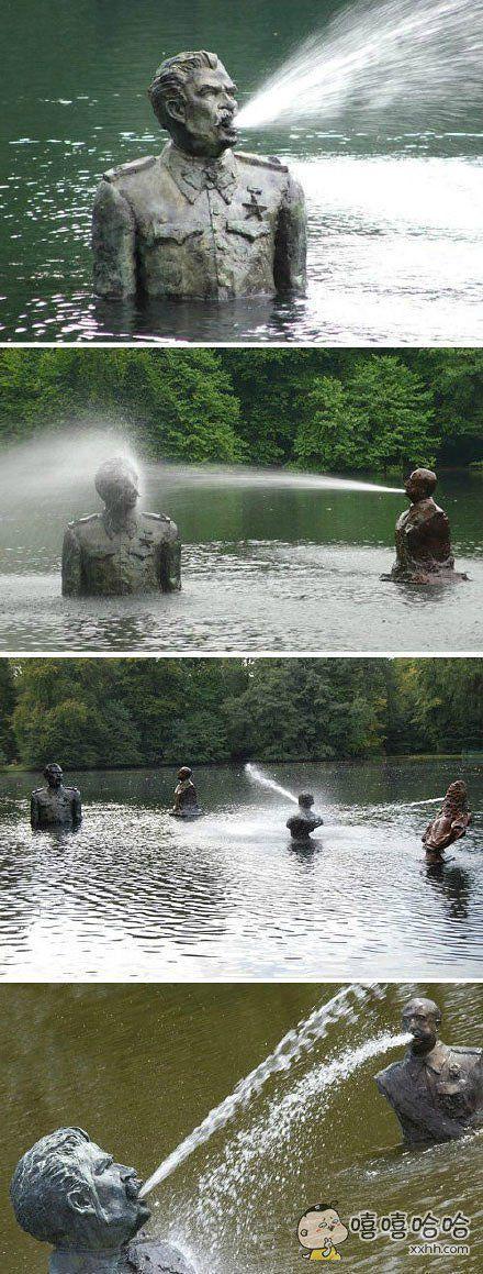 喷泉:来啊,互相伤害啊