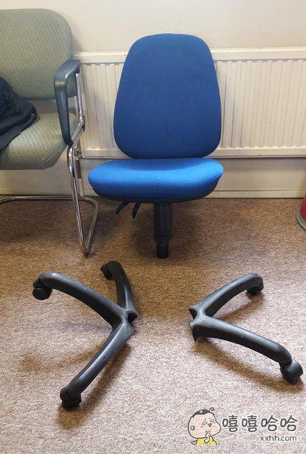 最近胖了一丢丢,椅子竟然撂挑子了