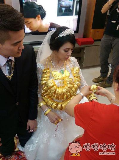 土豪的婚礼。。。
