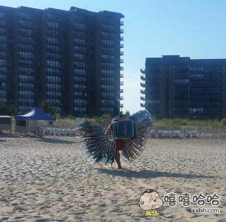 折椅的天使