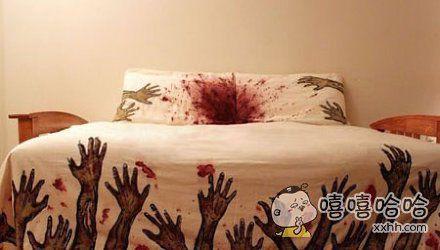 用这种毯子会天天做噩梦的吧