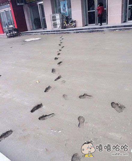 今天深深的体会了什么叫做一步一个脚印