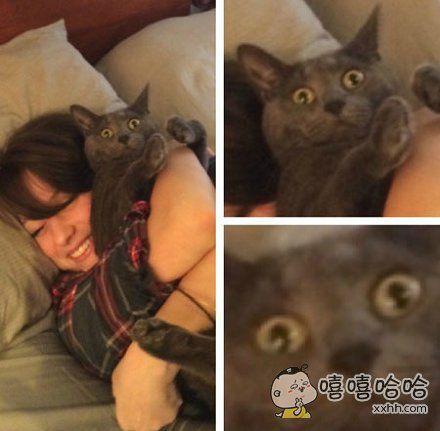 惊恐的小眼神