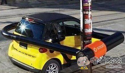 史上最牛的汽车防盗装置