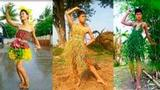 笑尿!泰国骚年的乡村时装秀