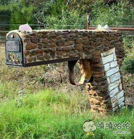 见过最有创意的邮箱