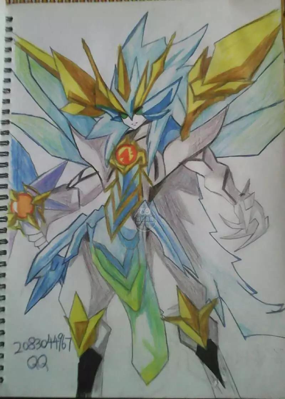 奥奇传说手绘 圣剑·龙神