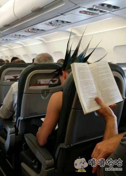 前面这位旅客,飞机上不允许带尖利的物品。