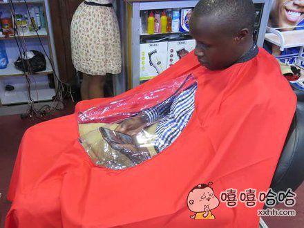 强烈建议在每个理发店推广