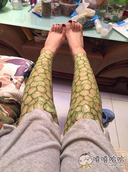 听说腿是女人的第二张脸。