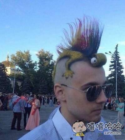 这个发型我给你99分。