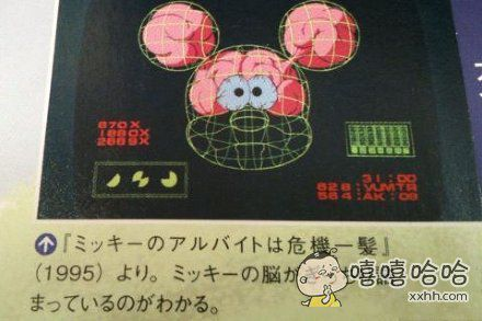 错了好多年……米老鼠头上那两个包不是耳朵,而是脑子