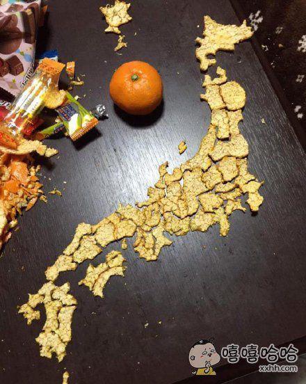 吃橘子吃成这样我也是醉了
