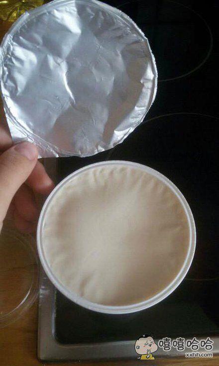 达成人生稀有成就:完美的酸奶盖