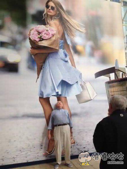 男人永远专一,喜欢看女孩子裙底