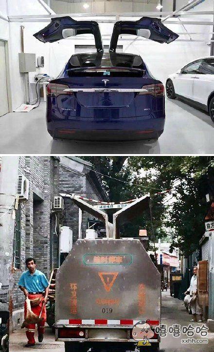 特斯拉Model X之门启示,像不?