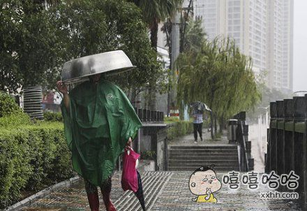 盆比伞好用啊