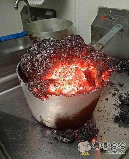 第一次尝试做饭