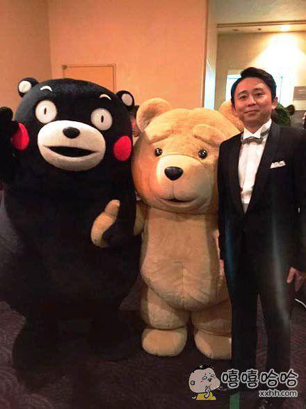 这两只熊竟然混到一起了?!