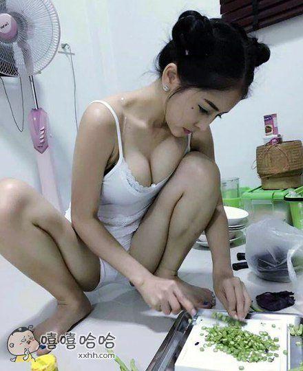 她做的饭肯定很好吃吧