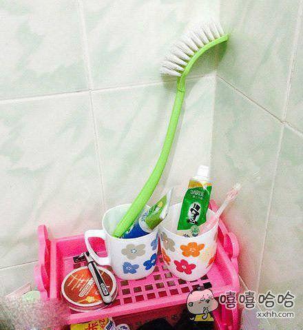 如此牙刷,应该刷的很干净