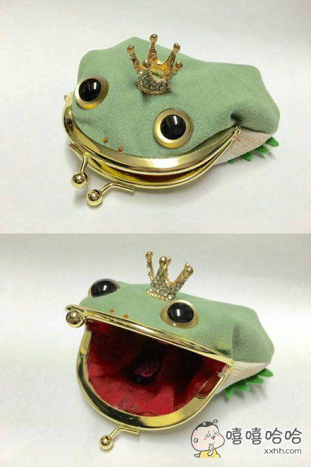 这钱包,很青蛙