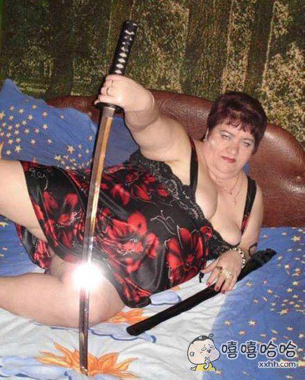 女胖子版武士