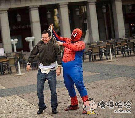 世界和平后,蜘蛛侠已经这么胖了