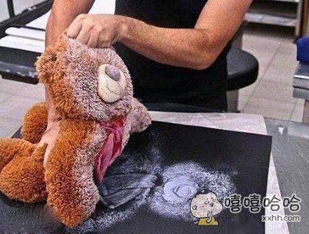 如何迅速的画出一只玩具熊