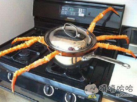 就不能拿个大点的锅吗