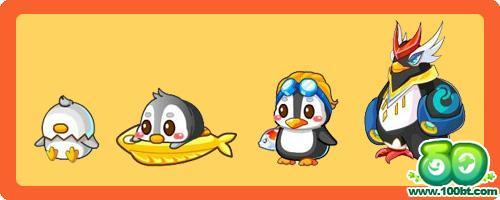 奥比岛 动物大全 帝企鹅变异,进化,图鉴及获得方法  星级 灰企鹅是二