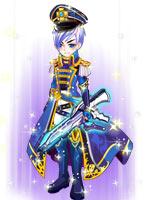 蓝魇军士套装