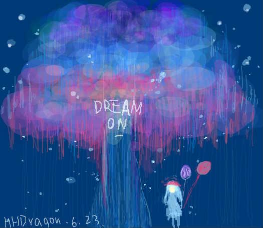 临摹DREAM ON