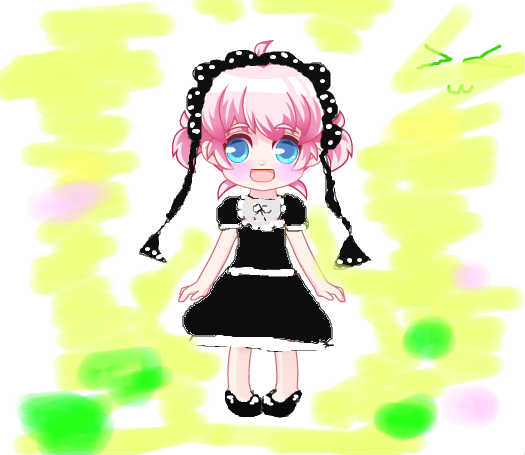 可爱小女仆