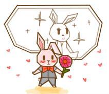 丨邪灵丨用简单的直线工具画出萌萌的兔子