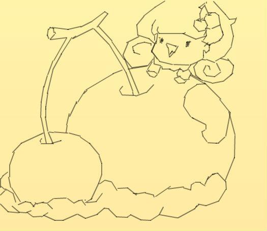 樱桃可爱画怎么画