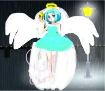 天使独自淋着雨