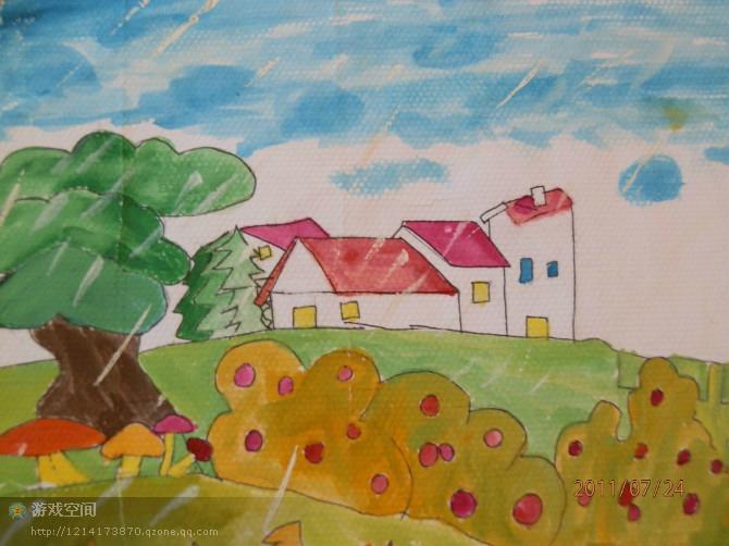 """小学三年级作文""""秋天的画""""怎么写?图片"""