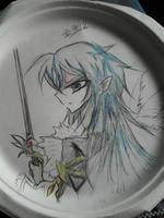 蓝璃(盘画版)