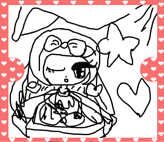 小公主苏菲亚涂色画 简笔画内容图片展示_小公主苏菲亚涂色画 简笔画