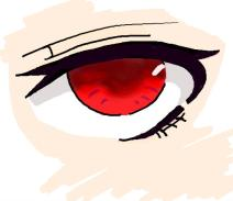 临摹-木户芽的眼睛
