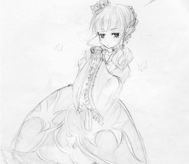 公主裙儿童画_绘画分享-夏天儿童画教师范画 第6页 绘画分享