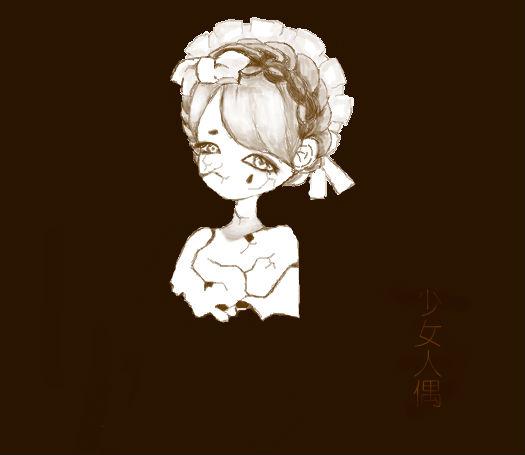 少女人偶渴望爱与怜悯,但终究落下绝望之泪。