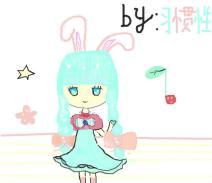 蓝思冰兔小妹