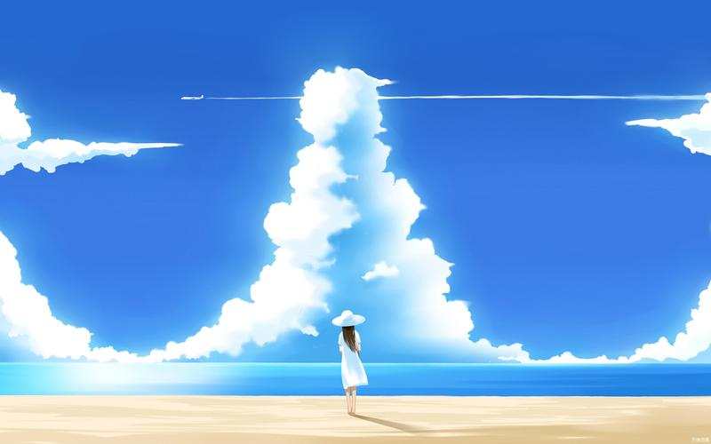 【米子酱】风景动漫桌面壁纸