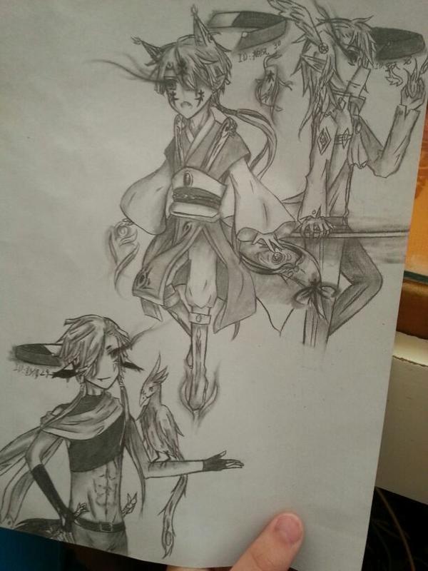 素描画疯狂动物城狐狸
